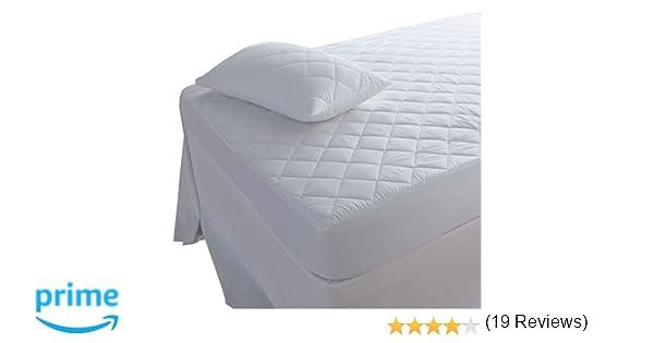 Protector de colchón acolchado Highliving®, extra profundo: 30 cm, varios tamaños, Small Double (122 × 190 cm): Amazon.es: Juguetes y juegos