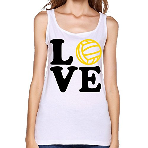 Women's Tennis Love Funny Logo Fashion Sleeveless Vest Novelty Tank Tops Graphic Tee -