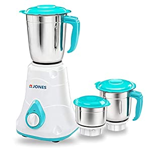 JONES Rapid Pro 700 W Mixer Grinder with 3 Jars , Blue