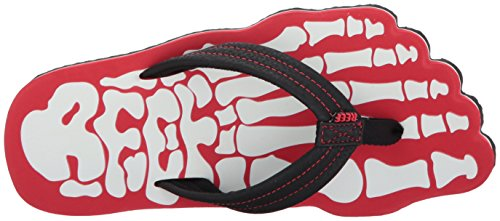 Reef Jungen Grom Skeleton Red Zehentrenner Rot (Red Red)