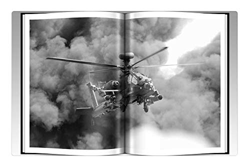 Tree26 Indoor Floor Rug/Mat (23.6 x 15.7 Inch) - Helicopter Clouds Military Smoke Action Sky ()