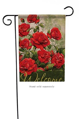 Dyrenson Home Decorative Outdoor Garden Flag Love Valentine'