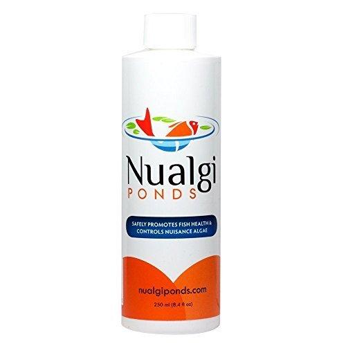 Nualgi Ponds Fish Health and Controls Algae, 250ml by Nualgi America, Inc by Nualgi Ponds