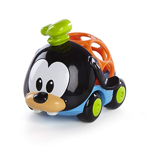 Disney Baby Go Grippers Donald & Goofy Push Cars from Oball, Ages 12 Months +