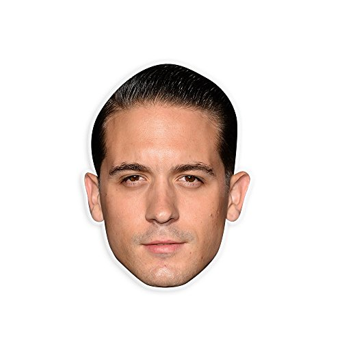 Eazy E Halloween Costume (Sexy G Eazy Mask - Perfect for Halloween, Masquerade, Parties, Events, Festivals, Concerts - Jumbo Size Waterproof Laminated)
