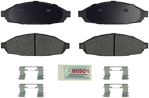 Bosch BE931H Blue Disc Brake Pad Set with Hardware