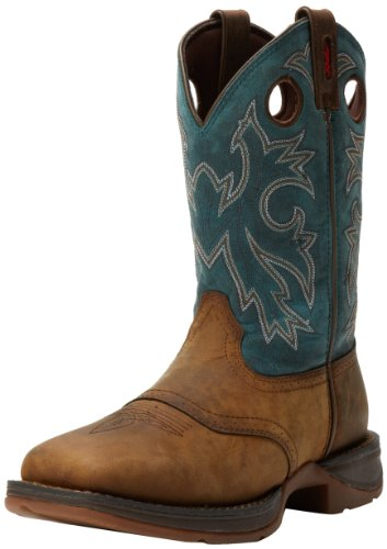 Durango Mens Rebel Db016 Western Boot Tan Navy 13 W Us