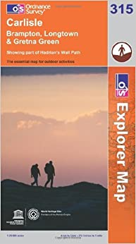 Book Carlisle, Brampton, Longtown and Gretna Green (OS Explorer Map Series) by Ordnance Survey (2010-08-05)
