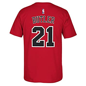 Adidas Chicago Bulls Jimmy Butler NBA Player - Camiseta, Hombre, Rojo, XX-Large: Amazon.es: Deportes y aire libre