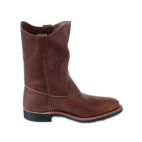 Boots Womens Pecos Red 3468 Leather Amber Wing Xw0q5qS