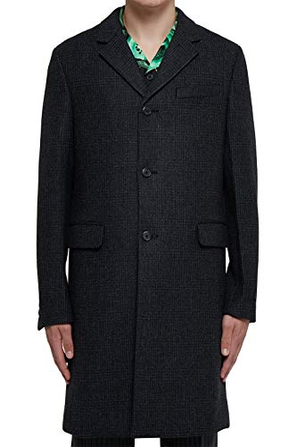 Prada Luxury Fashion Mens UC356D1UPPF0308 Grey Coat | Fall Winter 19