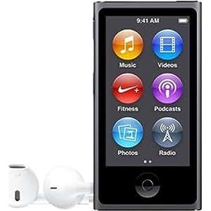 """Apple iPod Nano - Reproductor MP4 (pantalla 2.5"""", USB, Bluetooth, 16 GB, color gris espacial"""
