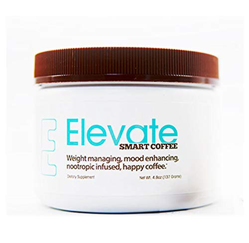 ELEVACITY Elevate Smart Coffee Tub 4.5 grams per serving,  30 servings/Container 20 calories & 140 mg of Caffeine/Serving. Original Formula