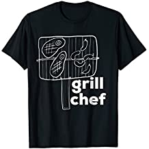 Grill Chef Cutlery Culinary Barbecue T-Shirt Love of Grill