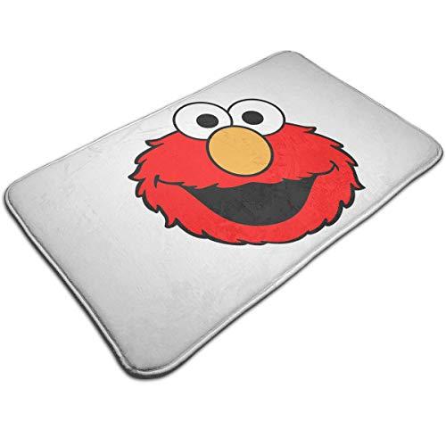 "Doormat Indoor Outdoor Entrance Mat 19.5"" X 31.5"" Non Slip Bathroom Rugs Bath Mat Elmo's World Running"