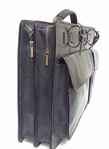 Superflybags - Cartera de mano para hombre XL gris