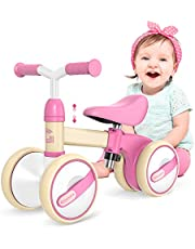 Gonex Baby Balance Bike for 1 Year Old - Children Walker/Toddler Ride for 12-36 Month Boys Girls, Adjustable Seat & No Pedal, Perfect First Birthday Gifts for Infant