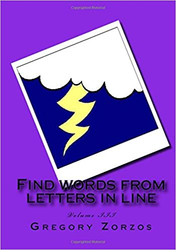 Find words from letters in line: Volume III (Volume 3)