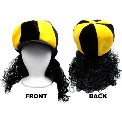 (Gift House Polamalu Hair Wig)