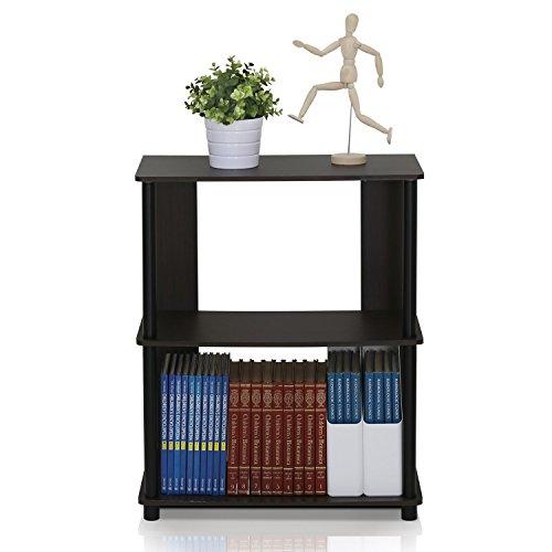 Furinno 15070WNBK Jaya Simple Design Bookcase, Walnut by Furinno (Image #3)