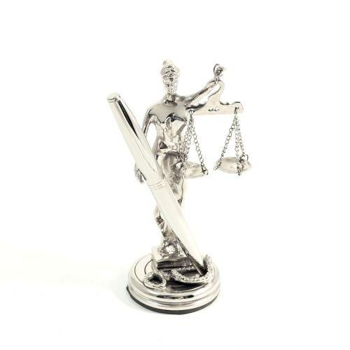 Lady Justice Pen Holder by Bey-Berk