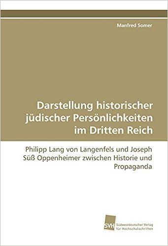 Die historische Person des Jud Süß Joseph Oppenheimer (German Edition)