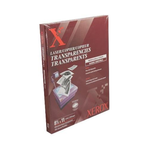 Xerox Removable Transparencies - 2