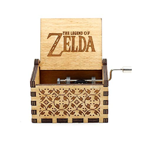 VDV Music Box - 2018wooden Hand cranked Music Box Beauty and The Beast Star Wars Island Princess for Christmas Happy Birthday Gift Children Gift