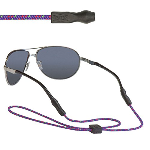 Chums 3mm Universal Fit Rope Eyewear Retainer Purple / Red / Green (865)