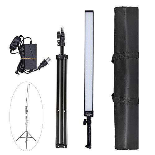 36w Dimmable LED Video Handheld Lights Photography Studio Continuous Output Lighting Kit with Tripod Stand for Camera Photo Studio Shooting,YouTube, Capture-1 Pack from Konseen