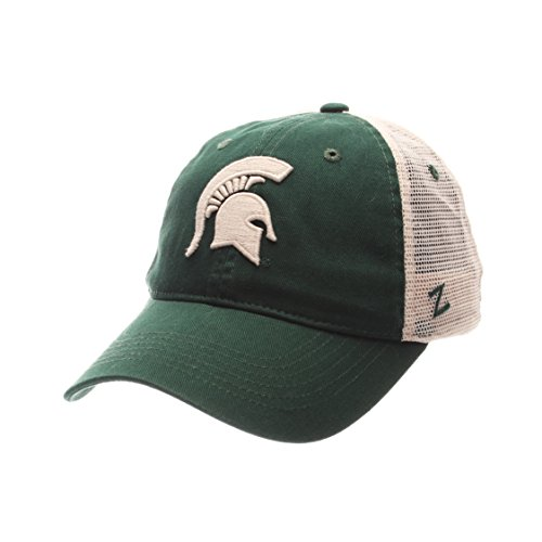 Michigan State Spartans Merchandise (NCAA Michigan State Spartans Adult Men University Relaxed Cap, Adjustable, Team Color/Stone)