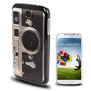 Old-Fashioned Camera Pattern Plastic Protective Case for Samsung Galaxy S IV / i9500