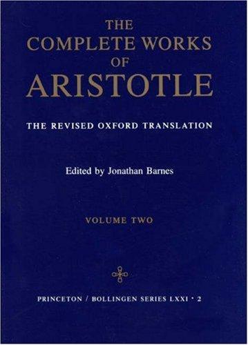 """Complete Works of Aristotle, Volume 2"" av Aristotle"