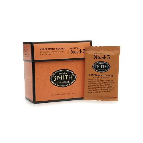Smith Teamaker Herbal Tea - Peppermint - 15 Bags by Smith Teamaker