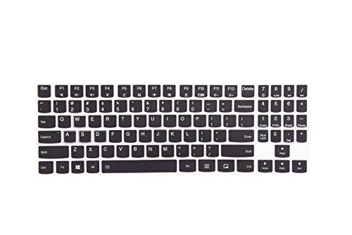 Leze - Ultra Thin Keyboard Cover for 15.6 Inch Lenovo Legion Y720 Y520 Gaming Laptop - Black