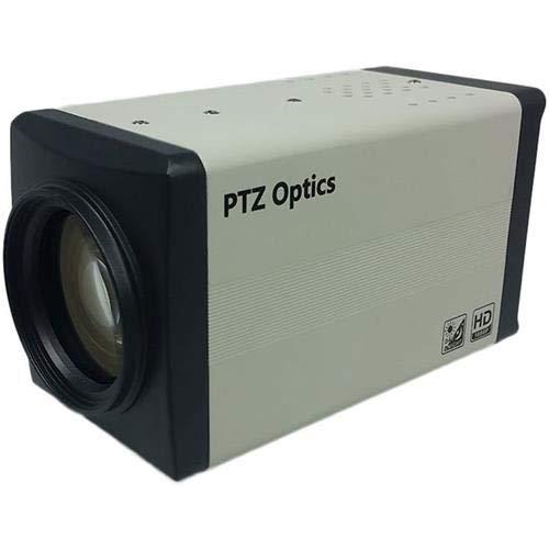PTZOptics 20X ZCam 1080p Box Camera with HD-SDI and integral lens