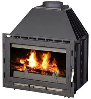 Insertar – Chimenea estufa de leña caldera agua chaqueta 14 kW