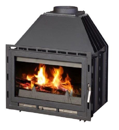 Insertar - Chimenea estufa de leña caldera agua chaqueta 14 kW: Amazon.es: Bricolaje y herramientas