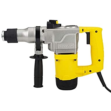 STANLEY STHR272KS 26mm 850-Watt 2 Mode L-Shape SDS-Plus 5Kg Hammer with Kitbox (Yellow and Black) 8