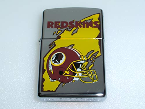 Zippo Washington Redskins National Football League High Polish Chrome Lighter