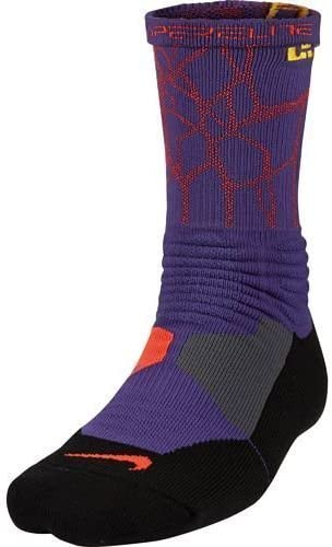 Birmania mago Carne de cordero  Amazon.com : Nike Men's Hyper Elite Cushioned Crew Socks (Purple/Orange,  Medium) : Clothing