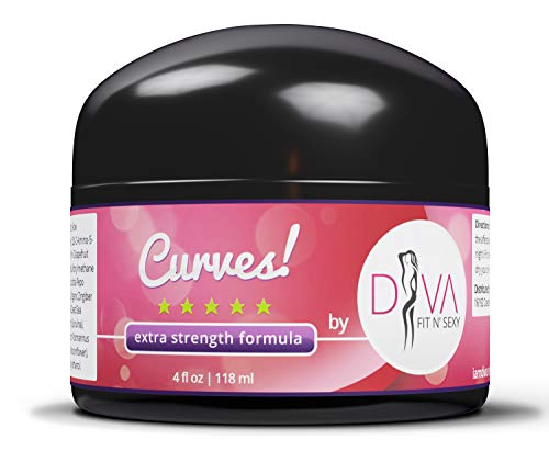 Curves Butt Enhancement and Enlargement Cream by DIVA Fit & Sexy - Give Your Butt the Beauty and Contour You Have Always Wanted!