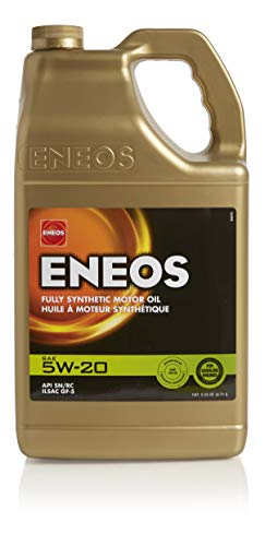 ENEOS 5W-20 Fully Synthetic Motor Oil, 5 Quart (Pack of 1)