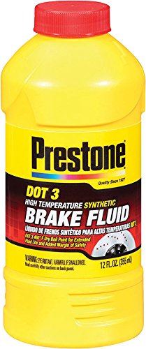 Prestone DOT 3 Synthetic Brake Fluid
