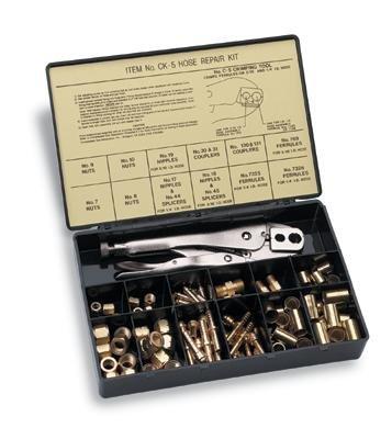Radnor 64003936 Model CK-5 3/16'' - 1/4'' B Hose Repair Kit