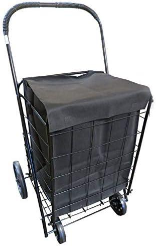 Folding Purpose Utility Shopping Wheels Capacity product image
