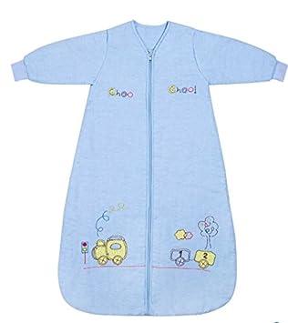 Slumbersac Saco de dormir niño pequeño Invierno manga larga aprox. 2.5 Tog, trenecito, 6-10 años/150 cm: Amazon.es: Bebé