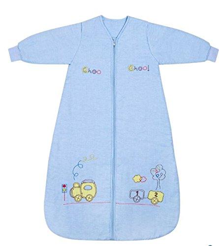 Slumbersac Saco de dormir de bebé Invierno manga larga aprox. 2.5 Tog, trenecito, de- 0-6 meses: Amazon.es: Bebé