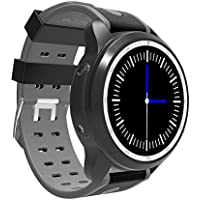Kingwear Smart Watch Silicone Band For Android,Black - KC03