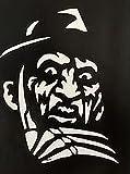 zombie laptop decal - Freddy Krueger Nightmare on Elm Street Vinyl Decal Sticker|Walls Cars Trucks Vans Laptops|White|5.5 In Tall|KCD720